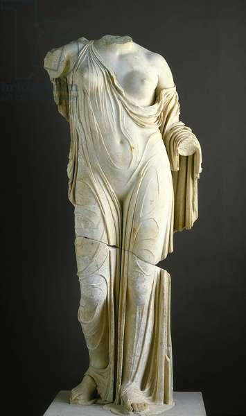 Copy of the Torso of Aphrodite, Venus Genetrix type (marble)