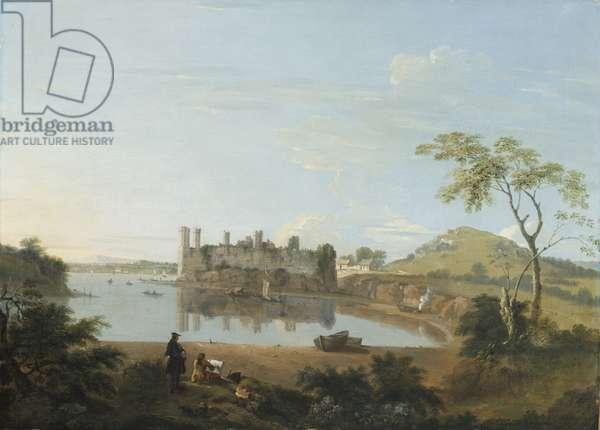 Caernarvon Castle, c.1744 (oil on canvas)