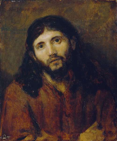 Christ, c.1648/50 (oil on oak panel)
