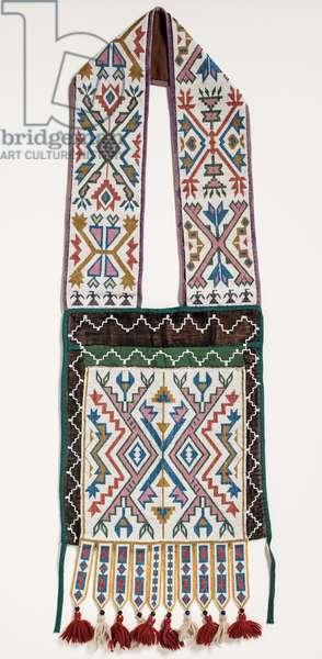 Shoulder bag, c.1888 (textile)