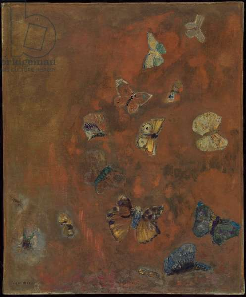 Evocation of Butterflies, c.1912 (oil on canvas)
