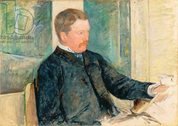 Portrait of Alexander J. Cassatt, c.1880 (oil on canvas)