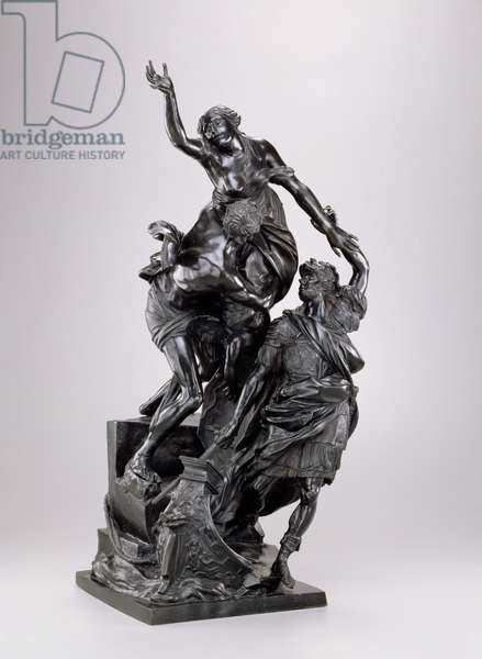The Abduction of Helen, 1683-86 (bronze)