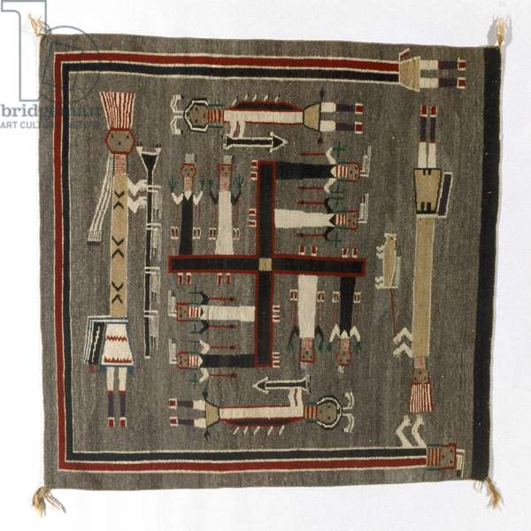 Blanket, early 20th century (wool)