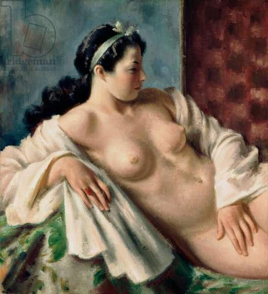 Torso of Hilda, 1927 (oil on canvas)