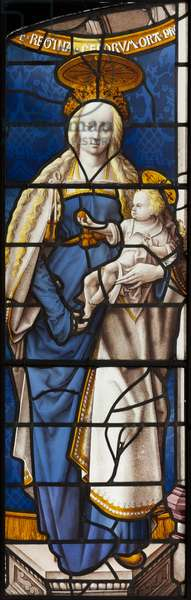 The Virgin as the Queen of Heaven, c.1510 (stained glass)