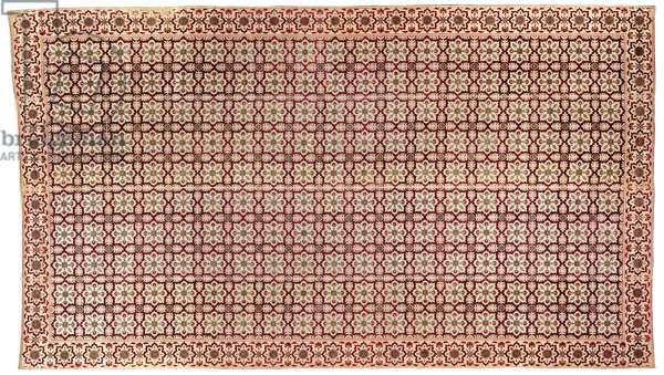 Summer Floor Covering, c.1650 (velvet and silk with metal threads)