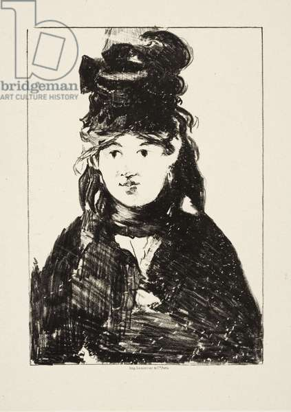 Berthe Morisot, c.1872 (litho)