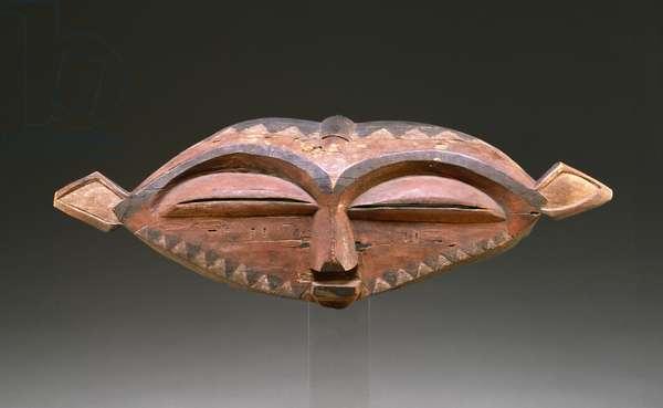 Mask, 1875-1925 (wood)