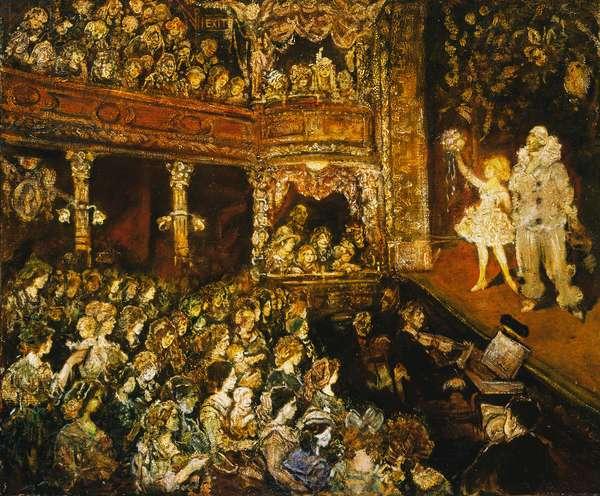 The Children's Theatre, c.1925 (oil on canvas)