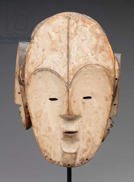Mask (wood, kaolin)