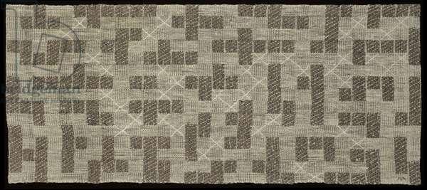 Pictorial Weaving, 1953 (textile)