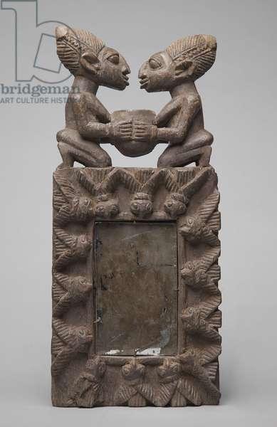 Yoruba Mirror Case (wood)