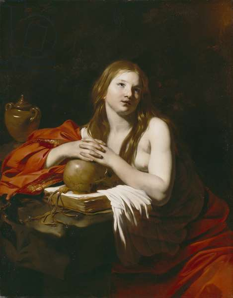 The Repentant Magdalene, c.1625 (oil on canvas)