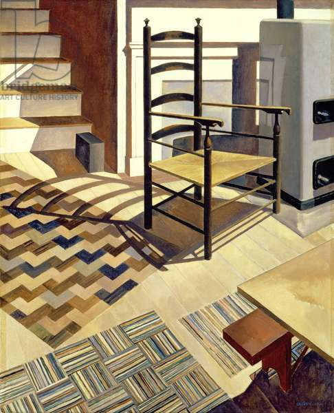 Home Sweet Home, 1931 (oil on canvas)