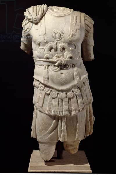 Loricate Torso, late 2nd century AD (marble)