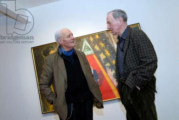 Gerald Laing and Tony Benn