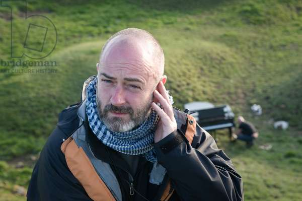 Great North Run Culture programme: Douglas Gordon on location during filming of 'The End of Civilisation', 2012 (photo)