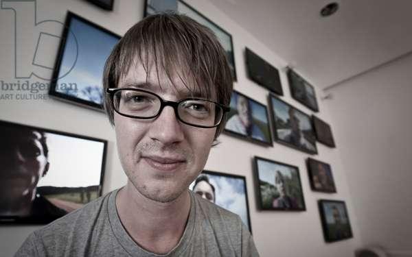 British artist David Blandy