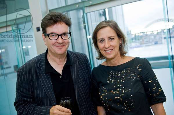 Mark Wallinger and Kirsty Wark