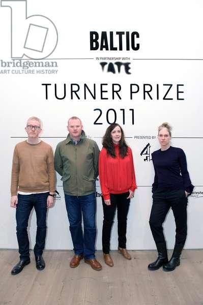 2011 Turner Prize nominees