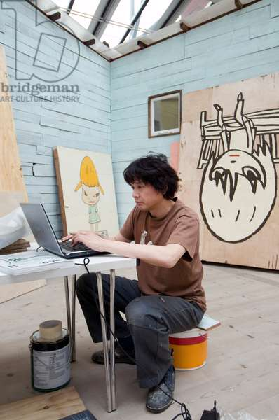 japanese artist Yoshitomo Nara, Baltic gallery 2008