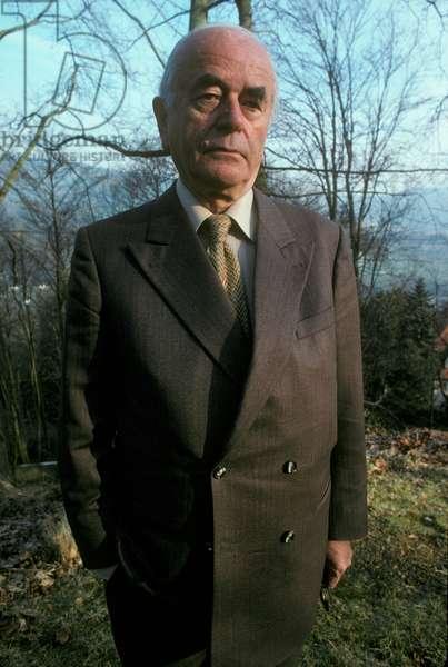 Albert Speer, 1979 (photo)
