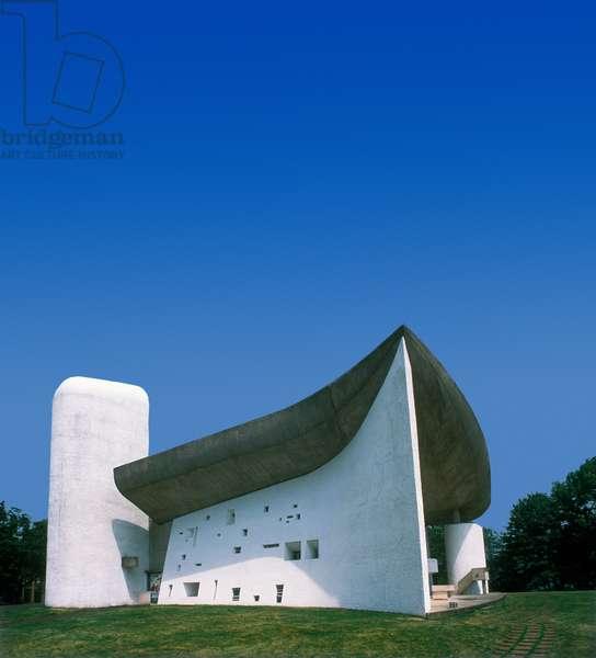 The chapel of Notre Dame du Haut, Ronchamp (photo)