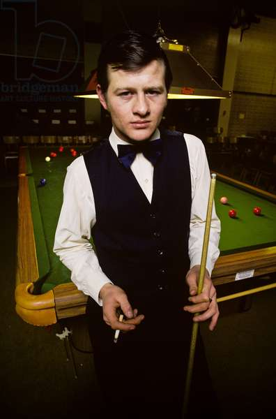 Alex Higgins, 1972 (photo)