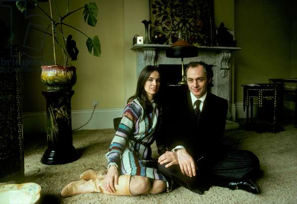 R. D. Laing and his wife, Jutta (photo)