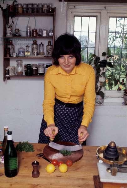Delia Smith, 1973 (photo)