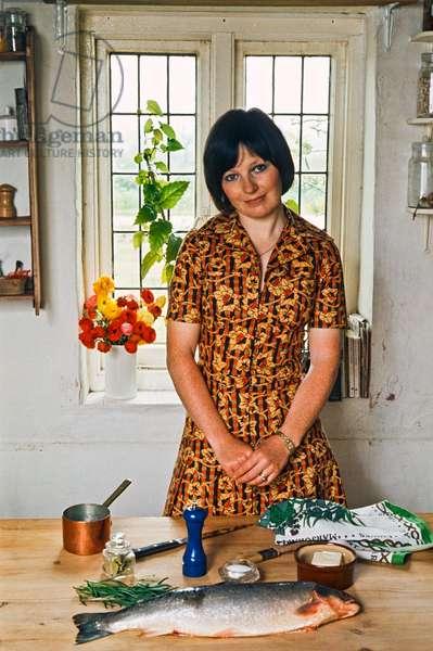 Delia Smith, 1974 (photo)