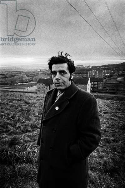 Jimmy Reid, 1971 (b/w photo)
