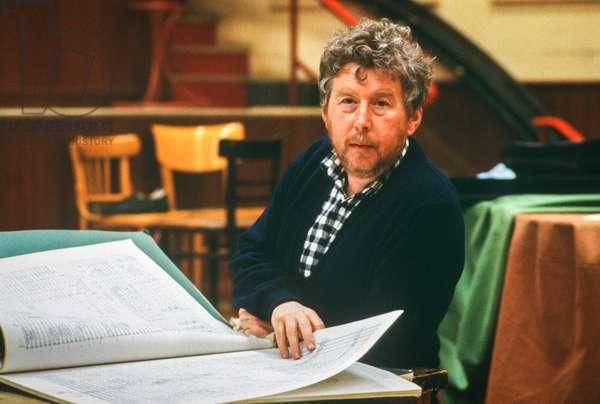 Harrison Birtwistle, 1986 (photo)