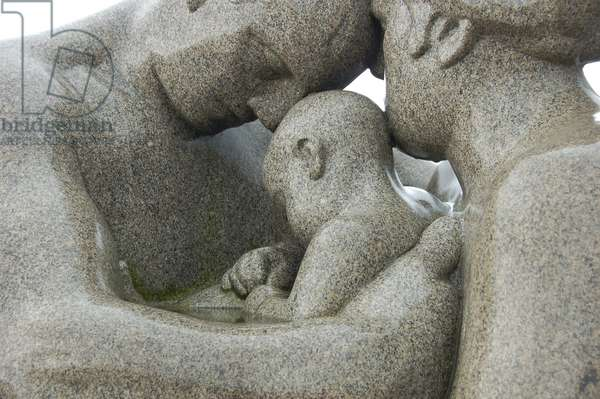 Sculptures in Vigeland Sculpture Park (photo)
