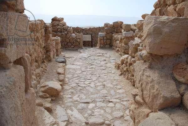 Building at Qumran, West Bank, Palestine (photo)