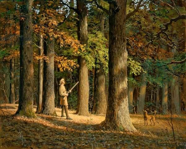 Among the Big Hickories