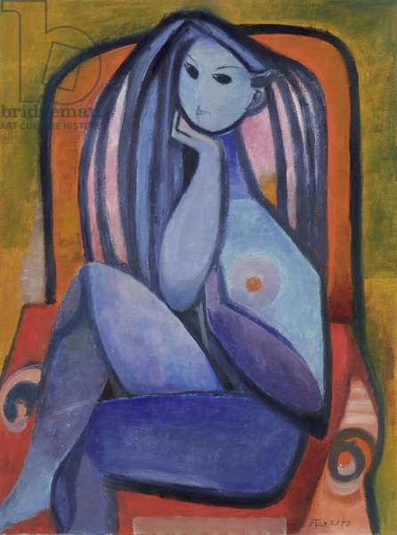 Untitled, c.1950 (oil on hardboard)