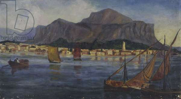 Mountain, 1930 (oil on canvas)
