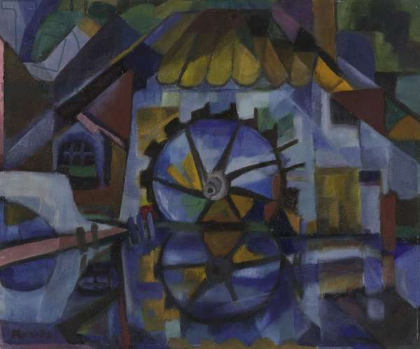 Untitled, c.1945 (oil on hardboard)