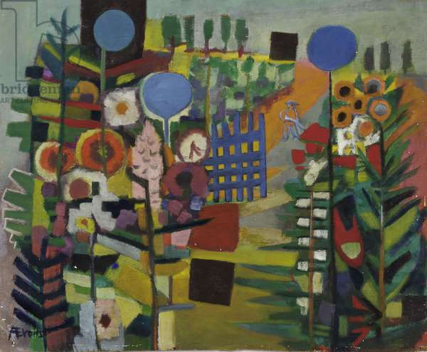 Untitled, c.1955 (oil on hardboard)