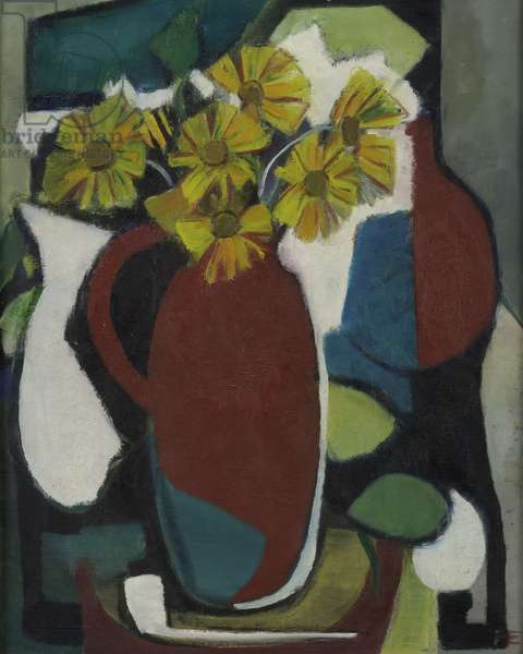 Still Life with Jars, c.1945 (oil on canvas)