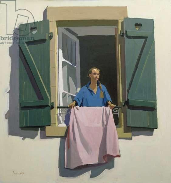 Le Matin, c.1985 (oil on canvas)