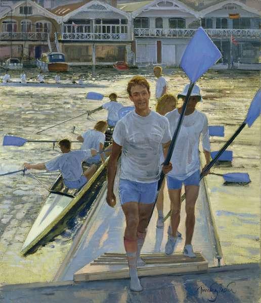 Evening Return, Henley, 1998 (oil on canvas)