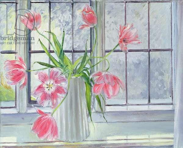 Full Blown, 1990 (oil on canvas)