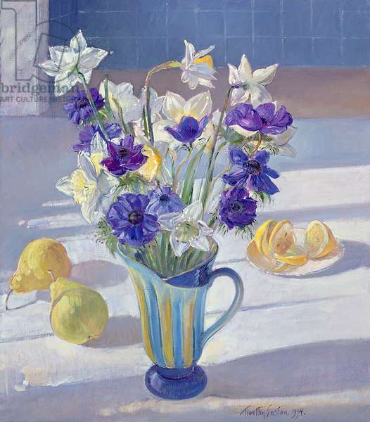 Spring Flowers and Lemons, 1994 (oil on canvas)