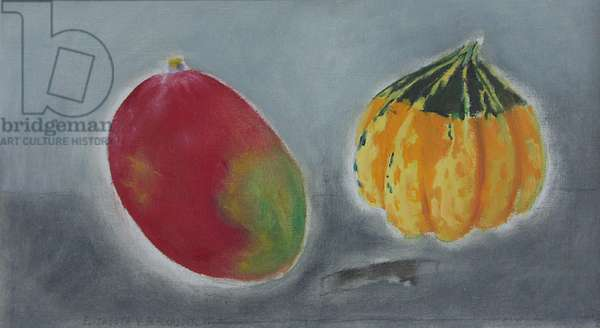 Mango and Squash, 2004 (oil on canvas)