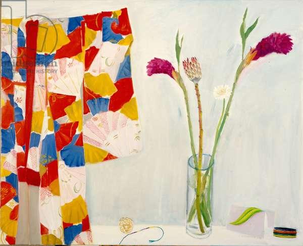 Still Life with Kimono, 2004 (oil on canvas)