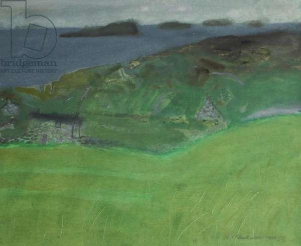 Achiltibuie, 1970 (pastel on paper)