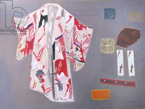 Kimono (oil on canvas)